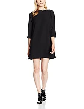 French Connection Damen Kleid Arrow Crepe Ls Pom Tunic