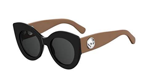 Fendi Damen Sonnenbrille Cat Eye, Schwarz (Black Havana), Einheitsgröße