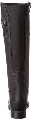 Rockport Tristina Gore Tall Boot Cuir Botte Black Waterproof