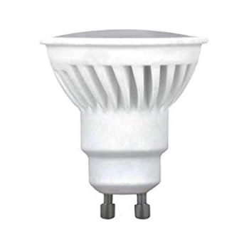 Bombilla Dicroica LED GU10 10W 120º Cerámica Blanco cálido