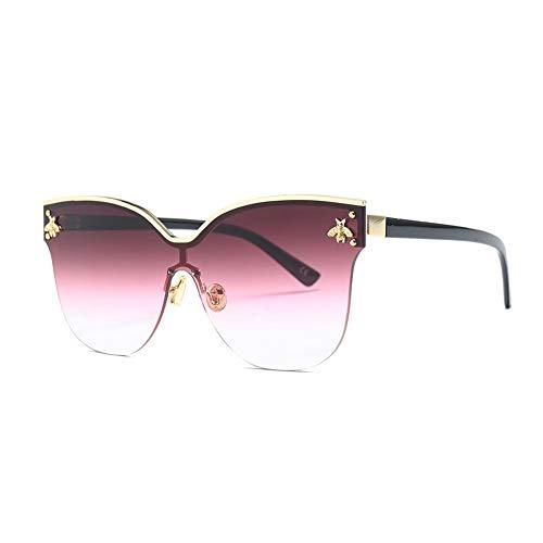 Thirteen Sonnenbrillen Frauen UV Blocking Geeignet Fahren Strand Mode Reisen Metallrahmen,Geeignet Für Dekoration, Sonnenschutz, Einkaufen, Reisen, Fahren. (Color : G)