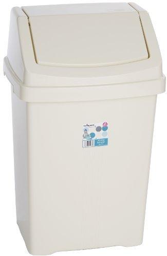 Robert Scott sbc50wh Swing cubo de basura, 50L, color blanco