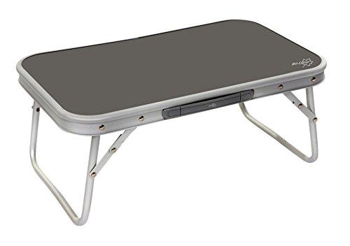 Bo-Camp 1404359Faltbarer Tisch grau - Niedriger Tisch