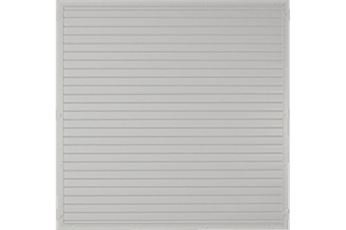 Sichtschutzzaun Kunststoff grau 180 x 180 cm (Serie Juist)
