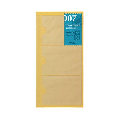 Midori Traveler's Notebook Refill #7 Card Holder by Midori
