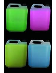 Paintglow - Pack peinture fluo liquide pour corps 20 litres ( 4 couleurs x 5 litres )