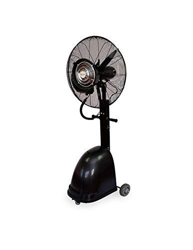 Ventilador Nebulizador Industrial 260W / 220V, Ventilador Oscilante De Pie con Tanque De Agua De 41L...