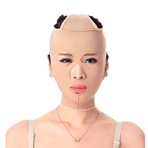 ZPWSNH Gewichtsverlust Gürtel Maske Gesichtsmaske Maske Muster verbessern Doppelkinn straffende Gesichtsform Gesicht Gesichts kraftvolle Facelifting Verband Maske Straffen (Size : XXL)