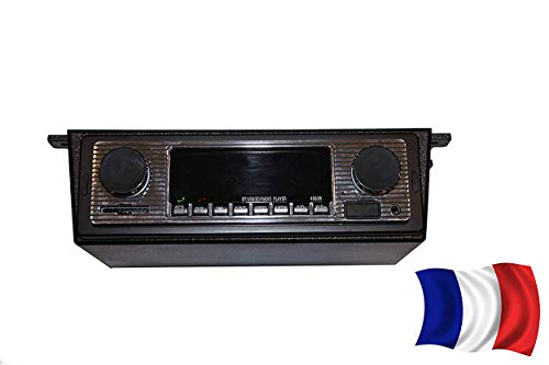 Morning May Autoradio Bluetooth MP3 Player Vintage Stereo USB Stereo AUX Classic Car Audio
