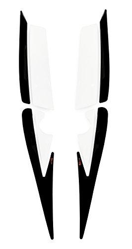 550004-VA hintere Verkleidung-Pad 3D Schwarz Schutz passend für Honda CBF 1000