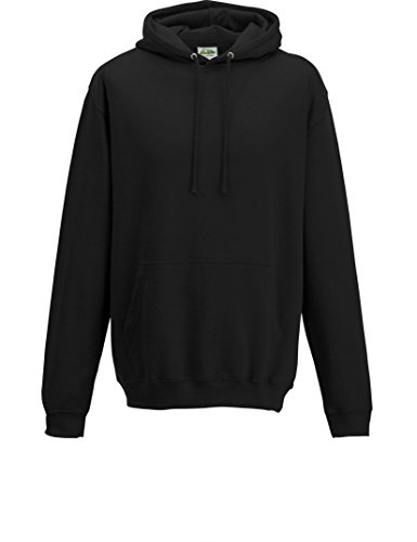 JH001 College Hoodie Kapuzenpullover Sweatshirt Kapuzensweatshirt, Farbe:Jet Black;Größen:4XL 4XL,Jet Black