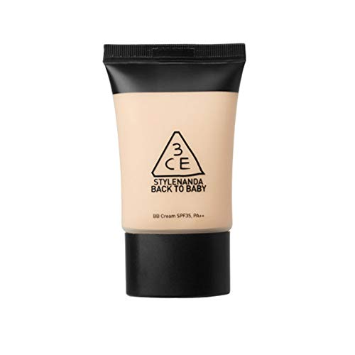 3CE BACK TO BABY BB CREAM SPF35/PA++ Korean Cosmetics #Dab1143 (Bb Diamond Cream)
