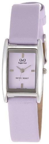 Q&Q Analog Purple Dial Women's Watch - S059-312Y image