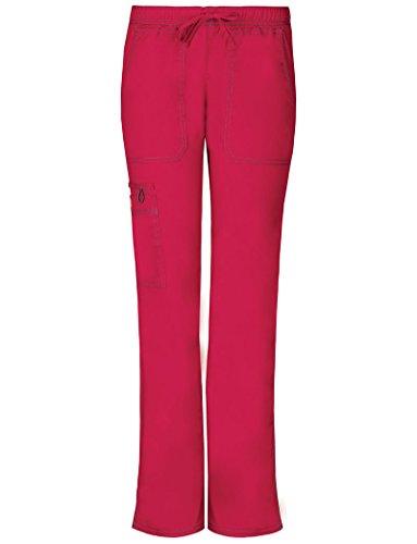 Gen Flex Frauen Low Rise Straight Leg Scrub Hose Gro?e Petite Crimson (Petite Low-rise-scrub-hose)