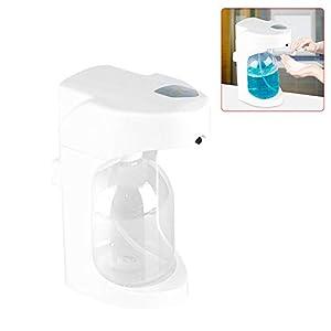 Handseifenspender – Delaman 500ML Automatischer Schaumseifenspender, mit verstellbarer Schaumflasche