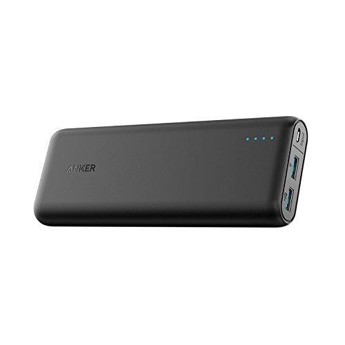 QC 3.0 Anker PowerCore Speed 20000mAh Batterie Externe Quick Charge 3.0, Power Bank Qualcomm QC 3.0 avec PowerIQ pour iPhone X/ 8/ Plus/ 7/ 6s, Samsung S8+/ S8, Nexus 6P/ 5X, iPad, Tablette