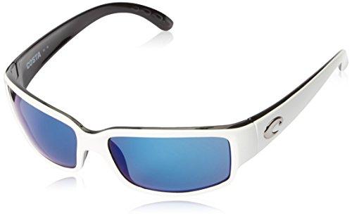 Costa Caballito Plastic Frame Blue Mirror Lens Unisex Sunglasses CL30OBMP