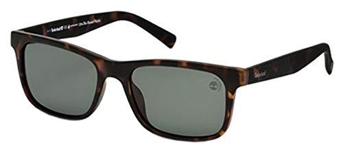 Timberland Unisex-Erwachsene Brillengestelle TB9141 52R 55, Braun (Avana Scura\\Verde Polar)