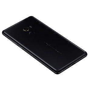 """Xiaomi Mi MIX 2 - Smartphone libre de 5.99"""" (4G, WiFi, Bluetooth 5.0, NFC, Snapdragon 835 2.45 GHz, 64 GB de ROM, 6 GB de RAM, cámara de 12 Mp, Android MIUI, dual-SIM), negro [versión española]"""