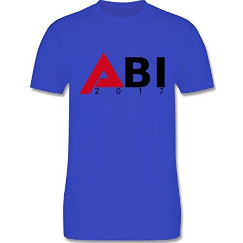 Abi & Abschluss - ABI 2017 - Herren Premium T-Shirt Royalblau