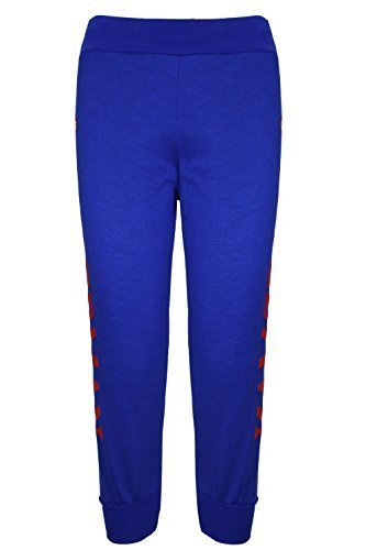 Oops Outlet Unisex Kinder Fleece Sweatshirt Superman Jog Pants Hose Pants (Fleece Superman)