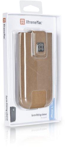 XtremeMac IPP-LS4S-13 Housse en cuir brun Daim marron