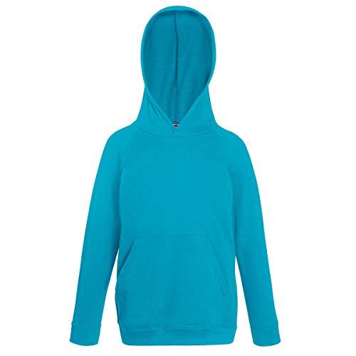 Fruit of the Loom Childrens Unisex Lightweight Hooded Sweatshirt/Hoodie