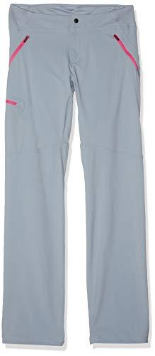 Columbia Wanderhose für Damen, PASSO ALTO PANT, Nylon, Grau (Tradewinds Grey, Pink Ice), Größe: W36/R, 1437911 Columbia Ice