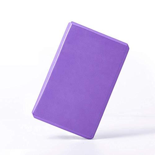 Yoga Brique Santé Et Protection De L'environnement Matériau Léger EVA Oreiller De Yoga À Haute Densité Accessoires De Yoga Violet