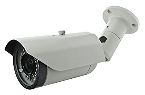BW BNPT40N 2.0MP High Definition Sony DSP 4-in-1 CCTV Format *TVI + CVI + AHD + analog * Hybrid output 1080p Bullet Security Camera * 2.8-12mm Vari-Focal HD Lens * Premium Components * 42x New Generation IR LEDs * IR Range 40m
