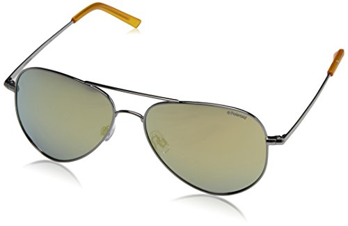 Polaroid Unisex-Erwachsene PLD-6012-N-6LB Sonnenbrille, Gold (Dorado), 56