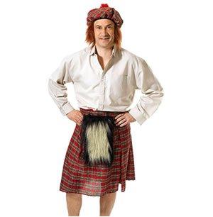 Scots Kilt + Hat