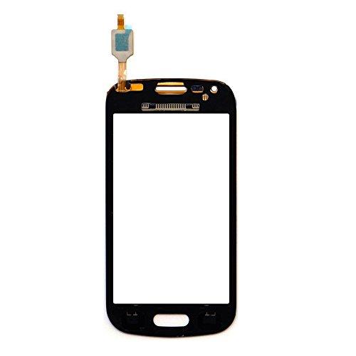 LCD Touchscreen Bildschirm Ersatz UU FIX Für Samsung Galaxy S Duos S7562 S7560 (Schwarz),Touch Screen Frontglas (Screen Frame und LCD nicht enthalten) Glass Screen Display Touchscreen Ersatzteil mit Reparatur - Galaxy Screen-ersatz S Duos