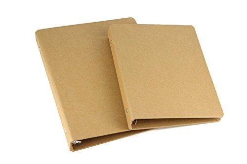 Fablcrew archivadores palanca papel estraza archivadores