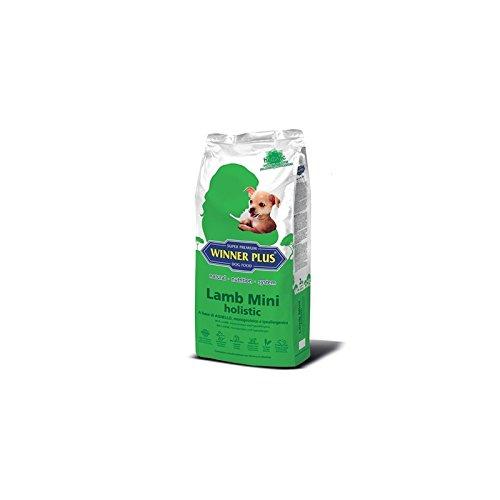 WINNER PLUS Lamb Mini holistic 2 kg - Alimento olistico abase di agnello, monoproteico e ipoallergenico, arricchito con erbe officinali ideale per cani di piccola taglia