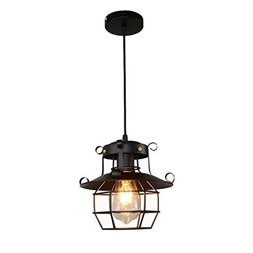 4 Light-anhänger Käfig (gzq Deckenleuchte Anhänger Light Flush Mount Retro Metall Deckenleuchte Lampe Dekoration für Flur, Arbeitszimmer, Büro, Esszimmer, Schlafzimmer, Wohnzimmer, Kaffee, Bar, Restaurant Stil Nr. 4)