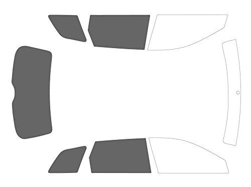 Preisvergleich Produktbild Varianz Auto getönte Displayschutzfolien für Auto Kit 3 / 4 hinten,  Schwarz 20