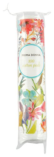 Prima Donna Cotton Round Pads, Soft and absorbent, Chemical Free, (White, Pack of 100)