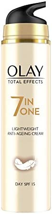 Olay Day Cream Total Effects 7 in 1 Anti-Ageing Lightweight Moisturiser SPF 15, 50g