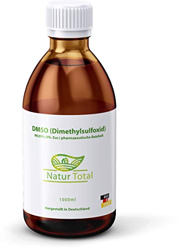 DMSO 99,9% Reinheit Dimethylsulfoxid 1000ml: Apothekerflasche 99,99%