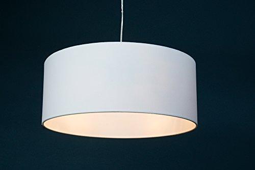 HÄNGELEUCHTE CIRCULO / zeitloses Design / eleganter Stoffschirm / Durchmesser 50 cm oder 40 cm