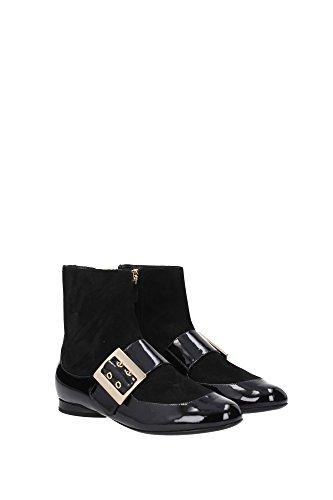 FWSHFIN1SOPAA161010 Lanvin Chaussure mi montantes Femme Chamois Noir Noir