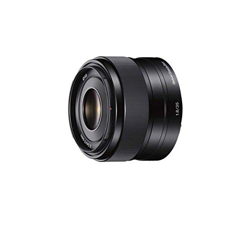 Foto Sony SEL35F18 Obiettivo con focale fissa E 35 mm F1.8 OSS, Attacco Sony-E, Nero