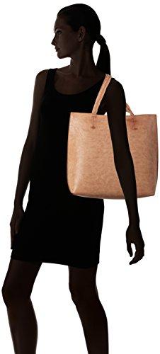 Borsa Shopper Boscha Damen Henkeltasche, 14 X 35 X 36 Cm Braun (cognac)