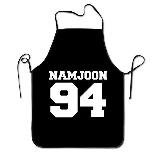 fgjhdfj Unisex Namjoon Restaurant Home Neck Bib Apron for Cooking -