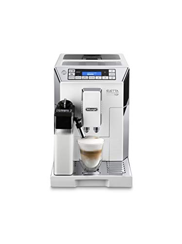 De'Longhi Eletta Cappuccino ECAM 45.760.W Bean to Cup, White thumbnail