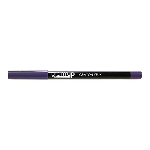 Glam'Up - Maquillage Yeux - Crayon Prune - Fabrication Européenne
