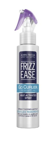 John Frieda Frizz Ease Go Curlier Heat Activated Spray 48 Hour Curls 100ml