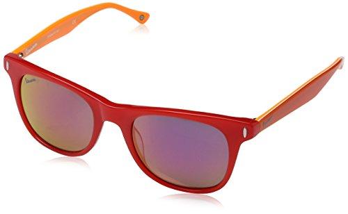 Vespa Eye Montures de lunettes Mixte Adulte, Rouge (Rosso/arancione) 51