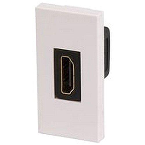 HDMI-Modul-Steckdose, Wand- oder Bodeninstallation, 25mm, AV-Modul 25 Mm-modul